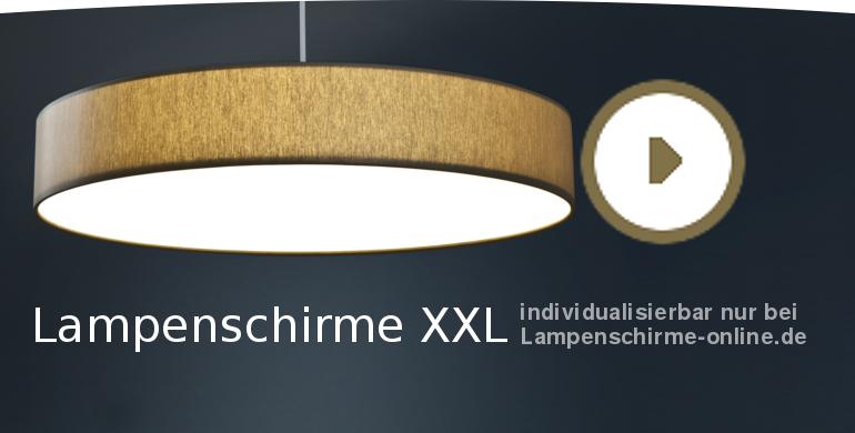 Lampenschirme XXL gestalten