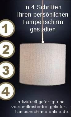 Lampenschirme selbst gestalten
