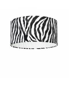 Lampenschirm Zebra Ø 50cm, Höhe 25cm