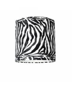 Lampenschirm Zebra Ø 40cm, Höhe 35cm